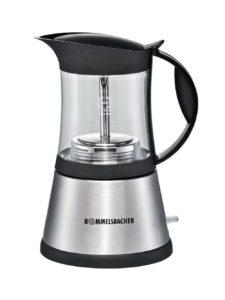 Espressokocher elektrisch - Rommelsbacher EKO 376/G elektrischer Espressokocher, 365 W, Edelstahl / glas