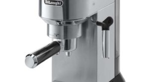 Espressokocher elektrisch Testsieger - DeLonghi EC 680.M Dedica