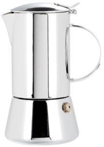 Espressokocher Edelstahl Test: Cilio Espressokocher Aida 2 Tassen