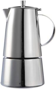 Espressokocher Edelstahl Test: Cilio Espressokocher Treviso 6 Tassen