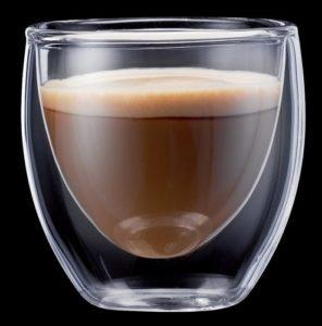 Espressogläser doppelwandig: Bodum PAVINA 2-teiliger Espressogläser-Set