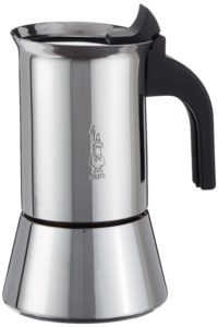 espressokocher induktion test Bialetti Venus 4 Tassen