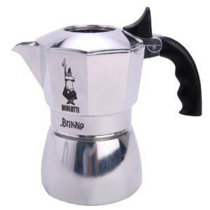 Bialetti Brikka 2 Tassen mit Cremaventil im Espressokocher Test